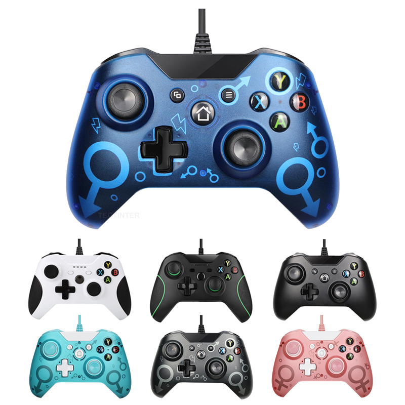 USB Wired Controller Controle  For Microsoft Xbox One Gamepad Controller  For Xbox One For Windows PC Win7 8 10 Joystick