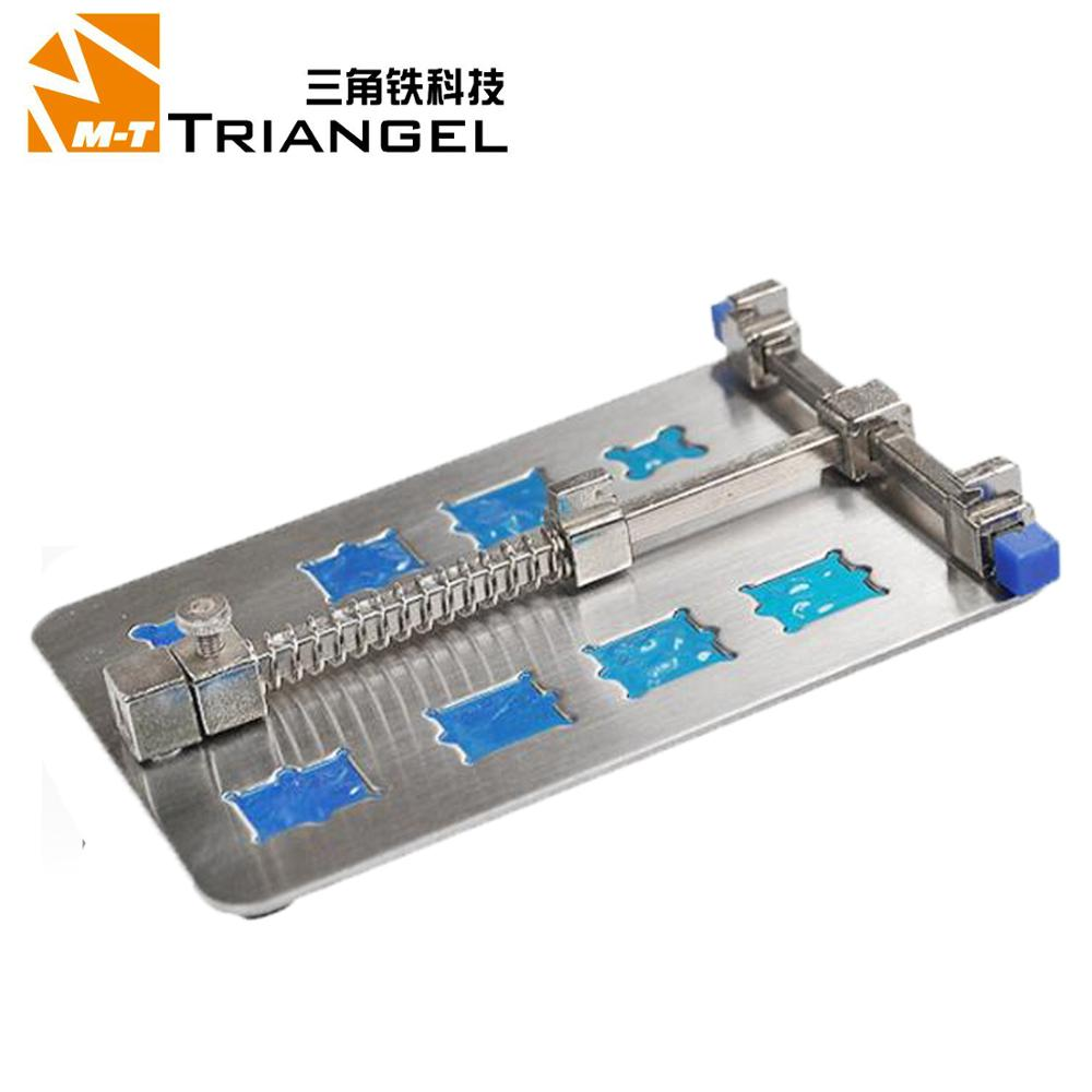 Mobile Phone PCB Repair Fixture With IC Card Slot Holder Work Station Platform Support Clamp Steel PCB Board Soldering Repair|Phone Repair Tool Sets| |  - title=