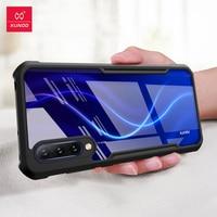Xundd capa para smartphones a prova de choque  case protetor  para xiaomi mi 9  lite  mi a3  case protetor  redmi cc9  cc9e capa transparente de barba