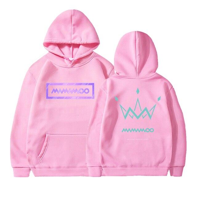 Mamamoo double-sided printing Harajuku cool hoodie male unisex fashion printing sweatshirt 90s graphics hip-hop hoodie male