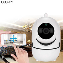 цена на HD Wireless IP Camera Wifi IP CCTV Camera Wifi Mini Network Video Surveillance Auto Tracking Camera IR Night Vision Baby Camera