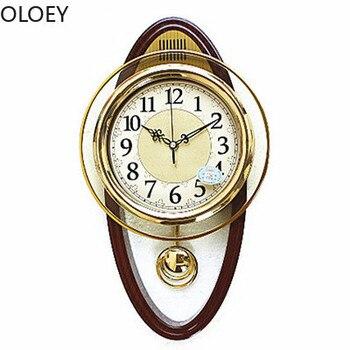 Reloj oscilante 3d De Pared, Reloj De Pared grande, De lujo, Vintage,...