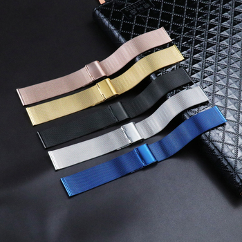Top Quaity Milanese Watch Band 8mm 10mm 12mm 14mm 16mm 18mm 20mm 22mm 24mm Stainless Steel Mesh Replacement Strap for DW Apple milanese watch band 8mm 10mm 12mm 14mm 16mm 18mm 20mm 22mm 24mm stainless steel mesh replacement strap for dw apple
