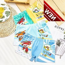 4pcs/lot New Fashion Kids Girls Briefs Female Child Boys Underwear Lovely Cartoon Panties Children Dress Baby Panty Babydoll