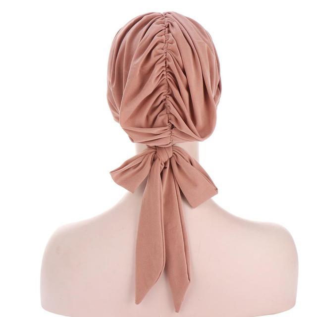 мусульманский тюрбан шапка для женщин предварительно завязанная фотография