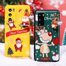 Christmas Gift 3D Doll Case For Huawei P Smart 2020 Y8S Y8P Y7 Y7P Y6 Y6P Y5P Y9 2018 Y8 P40 P30 P20 P10 Pro Lite Plus 2019 Caso(China)