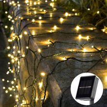 20/50/100/200 Led Solar Fairy Lights Outdoor Waterproof Street Garland Houses Christmas Garden Decorations String Light Strip(China)