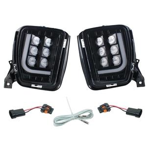Image 4 - ไฟ LED หมอกกันชนขับรถพร้อม DRL สำหรับ Dodge Ram 1500 2013 2014 2015 2016 2017