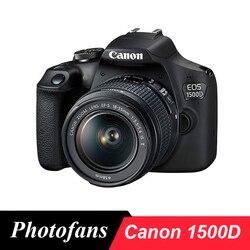 DSLR камера Canon 1500D / 2000D / Rebel T7 с объективом 18-55 мм-24MP-Video -WiFi canon камера