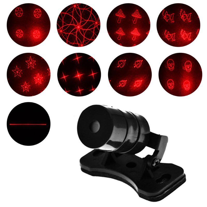 Nowy wzór przeciwkolizyjne tylne samochodowe laserowe światło przeciwmgielne automatyczne światło hamulca parkowania ostrzegawcze światło cofania
