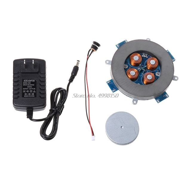 Levitazione magnetica del Centro Della Macchina Kit FAI DA TE Levitazione Magnetica Modulo Con LED LampWholesale dropshipping