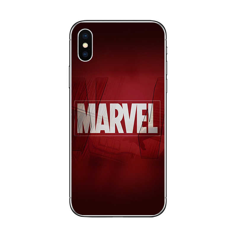 Capas de telefone para iphone 8 7 6 s plus 5S se tpu macio para iphone 11 pro max x xr xs max homem ferro capa