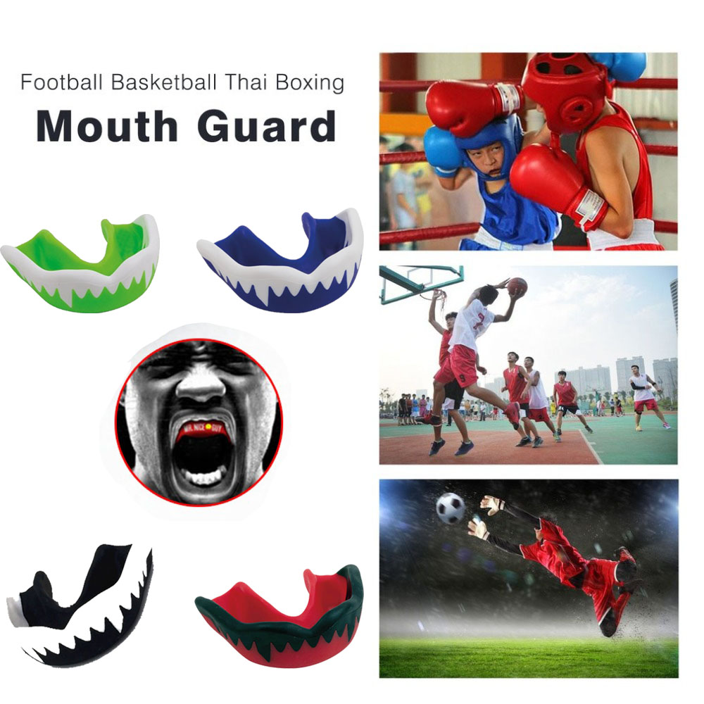 Non-Toxic Mouth Guard and Oral Teeth Protector Suitable for Football/Basketball/Boxing/Karate 5