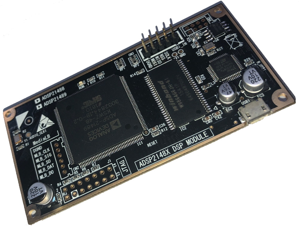 DSP Electronic Crossover / ADI SHARC Development Board / ADSP-21489 Development Board