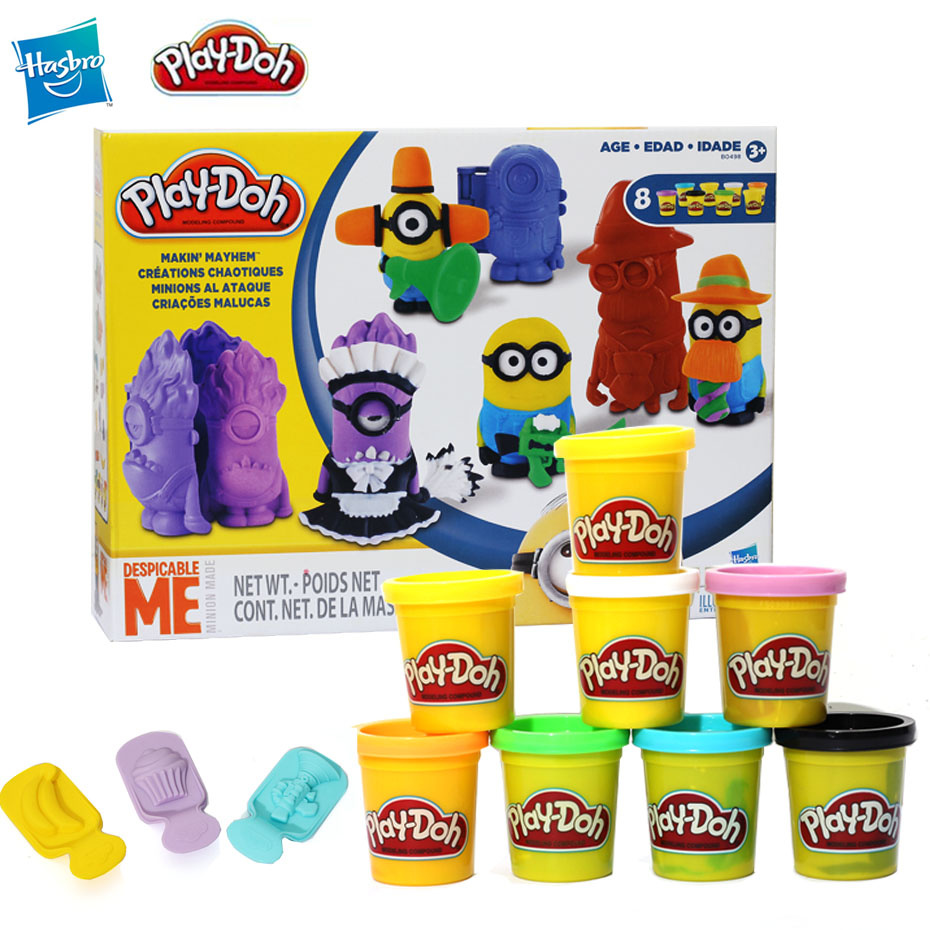 Hasbro Play-Doh Play Doh Colorful Clay Despicable Me Daddy Color Play Doh Case Of Colors
