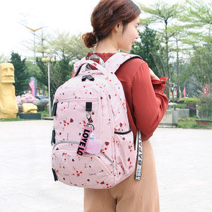 Image 5 - حقيبة ظهر مدرسية للأطفال بتصميم كوري من Fengdong حقيبة كتب للأطفال حقائب مدرسية للبنات حقيبة ظهر للكمبيوتر المحمول مقاومة للمياه حقيبة ظهر للإناث