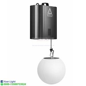 Image 4 - 3D yukarı aşağı kaldırma yüksekliği 0m 5m DMX RGB LED kaldırma topu Modern dalga etkisi renkli kinetik hafif kaldırma topu sahne DJ disko