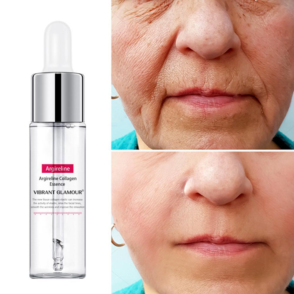 Argireline Collagen Peptides Facial Serum Cream Anti-Aging Wrinkle Lift Firming Vitamin C Serum Whitening Moisturizing Skin Care