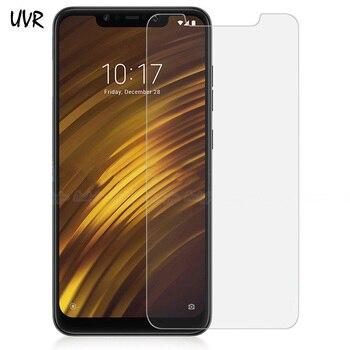 Перейти на Алиэкспресс и купить UVR для Xiaomi Pocophone F1 2.5D матовое закаленное стекло для Xiaomi Pocophone F1 защита от отпечатков пальцев
