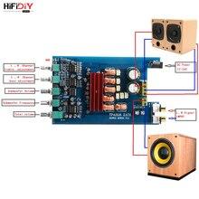 HIFIDIY TPA3116D2 2.1 Subwoofer Amplifier Board Car Digital Audio Amplifier 2X50W+100W Home Bass Subwoofer Speaker Bluetooth 5.0
