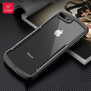 Image 1 - Funda protectora para iPhone SE 2020, Xundd, funda de silicona para iPhone SE2 SE, carcasa a prueba de golpes, funda ajustada transparente
