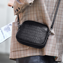 Роскошные новые маленькие сумки из натуральной кожи для женщин ZOOLER эксклюзивные женские сумки на плечо из коровьей кожи элегантные черные ...