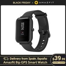 Livraison depuis lEspagne Amazfit Bip watch intelligente GPS Montre connectée Android iOS 45 jours dautonomie