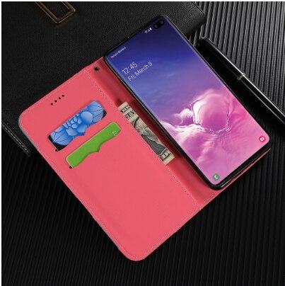 Portefeuille étui pour samsung Galaxy S10 S10e S9 S8 Plus housse A70 A50 A40 A30 épissure cuir sans Logo livre vitalité sport style coque