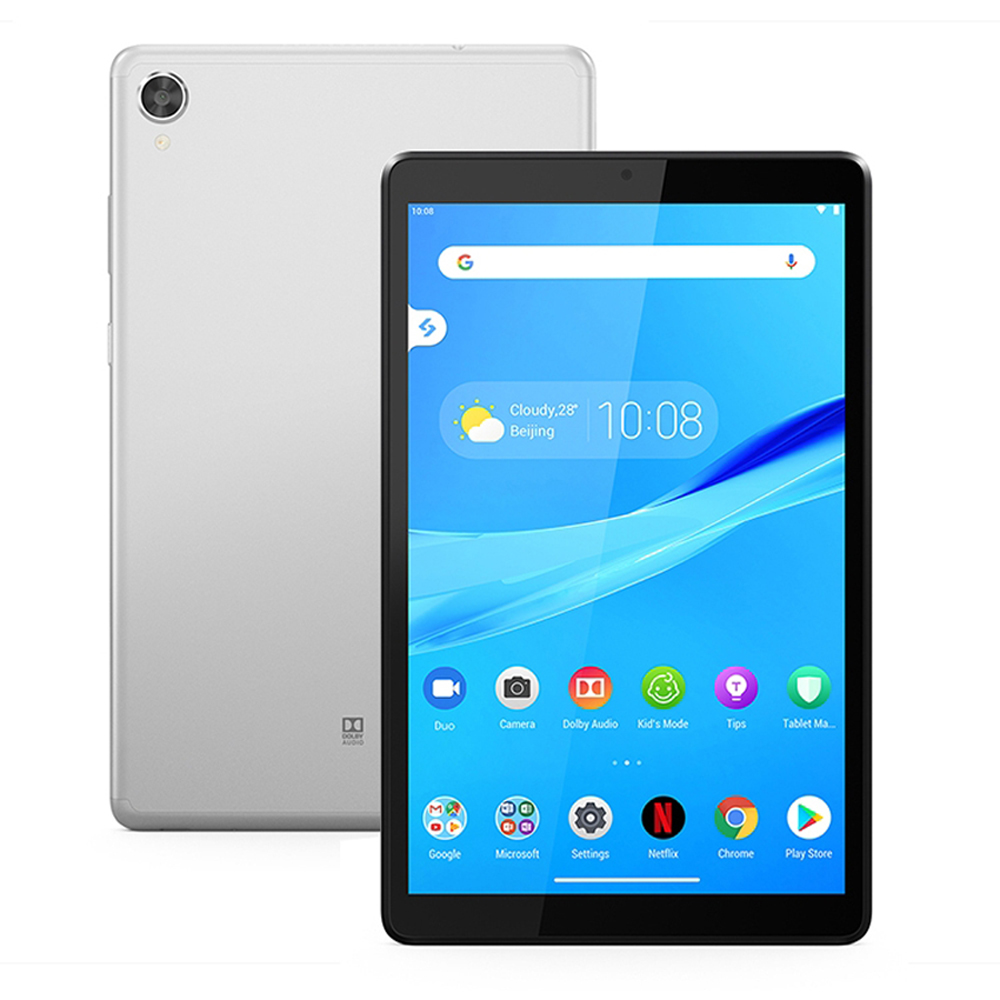 "Lenovo tab m8 (fhd) TB-8705F 8.0 ""tablet 4gb + 64gb helio p22t octa núcleo android 9.0 tablet wifi gps face id câmera dupla 5100mah"