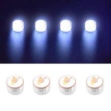 4pcs Anti Lost Mini Universal Searchlight Lightweight LED Night Flash Light Drone Signal Lamp With Battery For DJI Mavic Air 2
