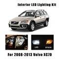 16 лампочек, интерьерсветильник для чтения света, подходит для Volvo XC70 2008-2010 2011 2012 2013, купольная лампа для карточек, грузовых лицензий