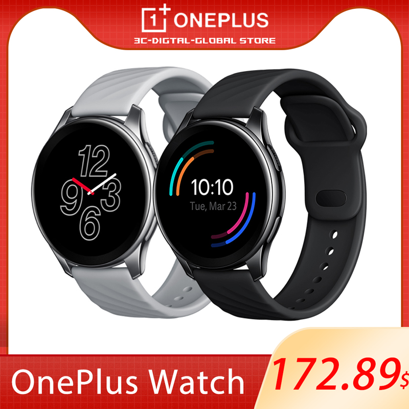 """Permalink to New Original OnePlus Watch 4GB Smart Watch 1.39"""" AMOLED BT5.0 IP68 GPS For OnePlus 9 9Pro(Only Support Above Android 6.0 Phone)"""