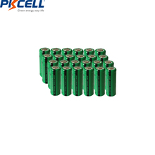 24pcs PKCELL 400mAh 2/3AAA Rechargeable Battery NiMh 2/3aaa Batteries NI MH 1.2V