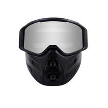 Motorcycle Glasses Motocross Goggles UV400 Protection Ski Bike for  Open Face Helmet Mask MX ATV Drit Bike Moto glasses