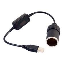Lighter-Socket Car-Converter-Adapter Power-Cord Xiaomi Usb-Port for DVR 12V Wired-Controller
