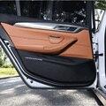 Автомобильная противогрязевая Накладка для межкомнатной двери, Противоударная накладка, Защитная крышка для двери для BMW F30, F34, F10, F48, F25, F26, ...