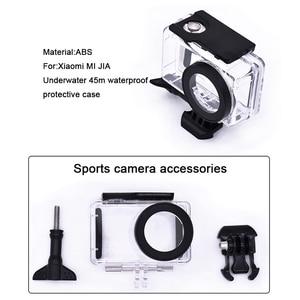 Image 4 - Pour mijia accessoires Kits 45m boîtier étanche étui de Protection pour Xiaomi mijia 4K caméra daction
