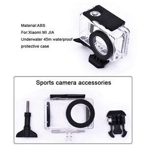 Image 4 - Voor Mijia Accessoires Kits 45M Waterdichte Behuizing Case Bescherming Case Voor Xiaomi Mijia 4K Action Camera