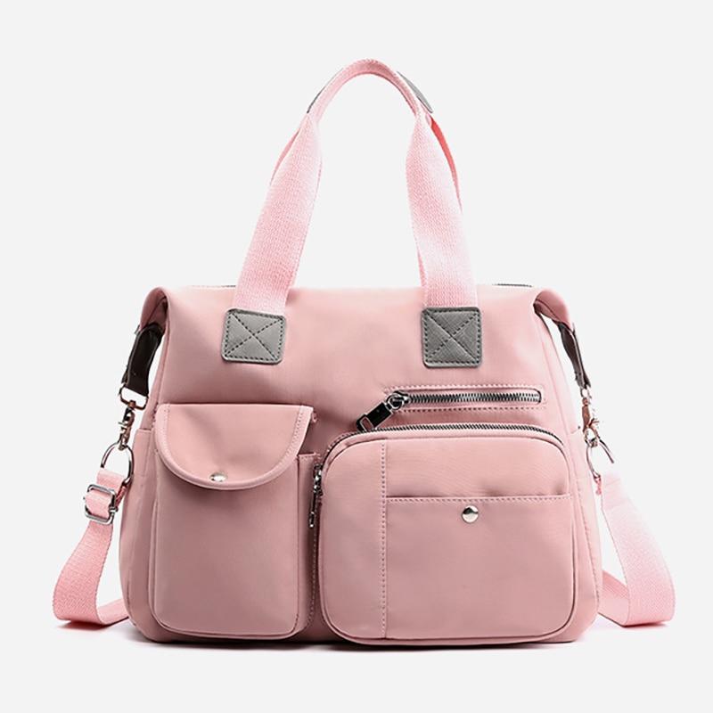 Nylon Maternity Bag  Baby Nappy Bag Diaper Bags Mummy Multifunction Large Fashion Travel Bag  Waterproof BXY070
