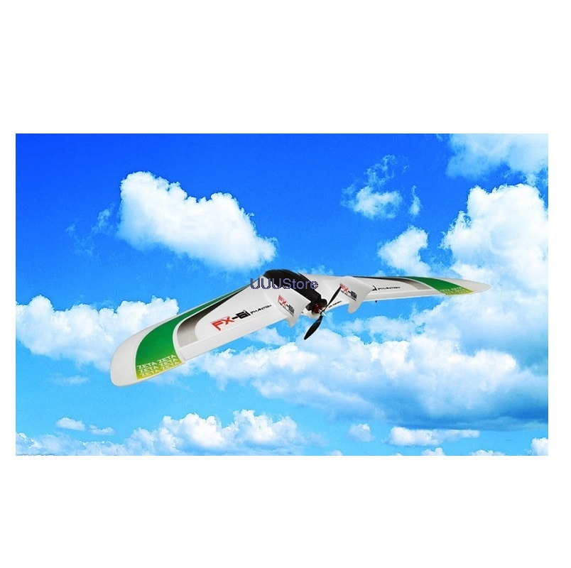Zeta FX-61 FX61 EPO Phantom WINGSPAN 1550mm 61 INCH Flying Wing Rc Airplane / Fixed Wing Aircraft Fpv Model Frame Kit OR PNP