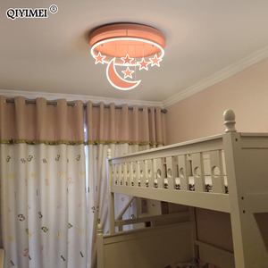 Image 5 - New Ceiling Lights Girl Children Room Bedroom Modern LED Lighting Surface Mount   Remote Control Indoor Lamp Lampara Techo