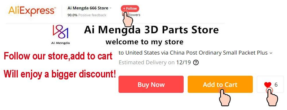 Preto anet a8 a6 3d impressora atualização