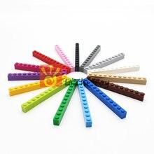 MOC * Brick 1*12 (3 h) * 6112 DIY enlighten blok bakstenen Compatibel Met Assembleert Deeltjes 30pcs