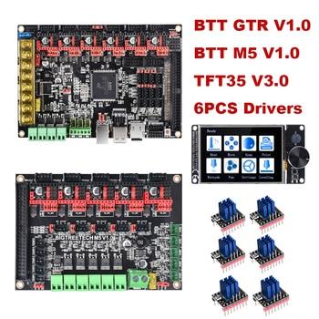 BIGTREETECH GTR V1.0 Control Board+M5 V1.0+TFT35 V3.0+TMC2208 TMC2209 Driver VS SKR V1.4 V1.3 GEN L For Ender3 3D Printer Parts фото