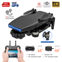 New 2021 L108 Gps Drone With HD 4K Camera Professional 2000m Image Transmission Brushless Motor RC Foldable Quadcopter Kid Gift