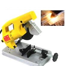Electric Mini Circular Saws Metal Wood Cutting Machine Table Sawing Machine Handheld Cutting Tools Woodworking Miter Saw JS-QG1