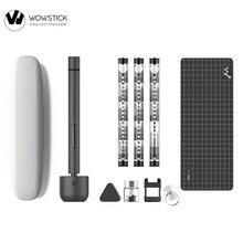 Originale Wowstick 1F + 64 In 1 Cacciavite Elettrico Cordless agli ioni di Litio di Carica LED di Alimentazione Cacciavite kit 2020 Nuovo