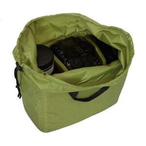 Image 4 - RISE กันน้ำใส่ Partition กระเป๋ากล้องเลนส์สำหรับกล้อง DSLR SLR