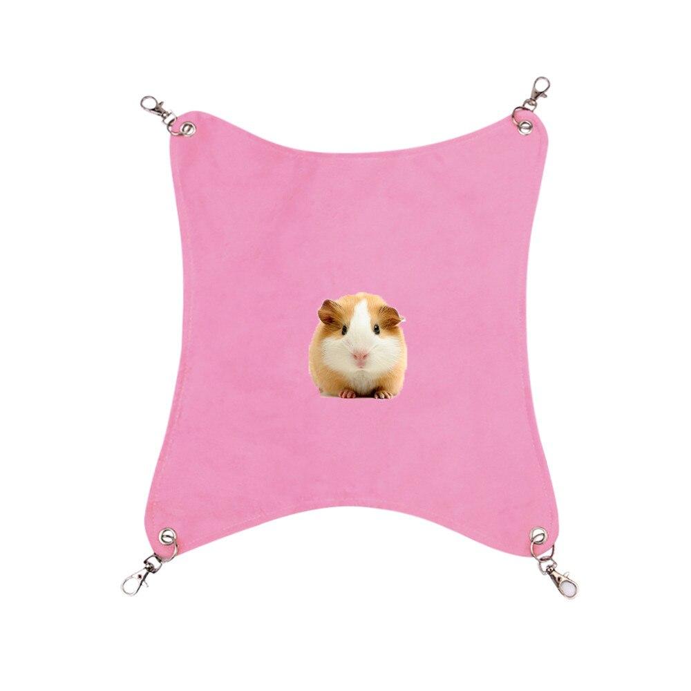 Хомяк клетка ferret Топ висячая подвесная койка для животных Съемная Хлопковая Сумка для животных домашних животных качающаяся клетка для хомяка 8,20 - Цвет: PK