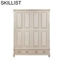 купить Garderobe Armoire Vetement Meuble Rangement Armario Szafa European Furniture Bedroom Mueble De Dormitorio Cabinet Wardrobe по цене 102575.13 рублей
